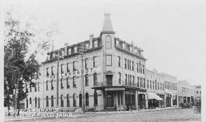 The Lenhardt Hotel circa 1900